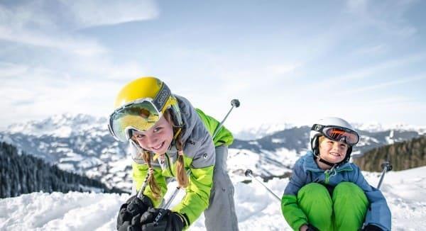 Skifahren mit Kindern © Snow Space Salzburg, Christian Schartner